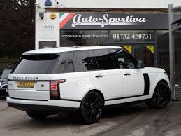 car range rover 2016 used 2016 land rover range rover 3 0td vogue black pack 21