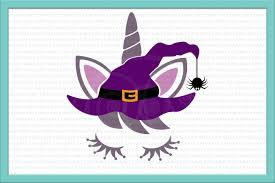 halloween clipart witch unicorn face svg unicorn iron on unicorn svg halloween svg