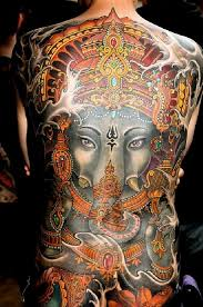 ratta tattoo u2014 this ganesh tattoo shows the hindu god with only