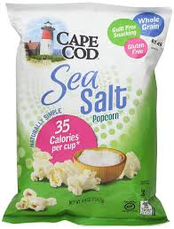 amazon com cape cod sea salt popcorn 4 40 oz