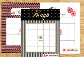 bridal shower gift bingo bridal shower gift bingo cards