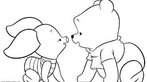 baby pooh bear coloring pages gekimoe u2022 21458