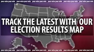 Early Election Results Map by Whsv Election Results