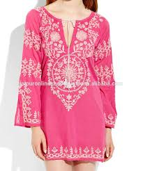 western style cotton tunics top shirt selling women apparel