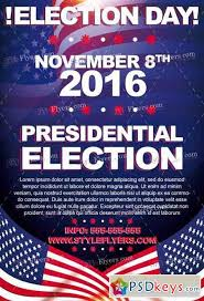 election day psd flyer template facebook cover free download
