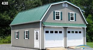 Metal Car Awning 2 Car 2 Story Garage Two Story Garage Horizon Structures