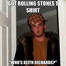 got rolling stones t shirt who s keith richards create meme