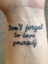 recovery quote tattoos