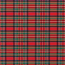plaid christmas tartan plaid christmas and green gift wrap roll 24