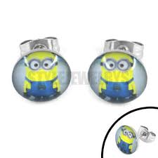 minion earrings compare prices on stainless steel minion earrings online shopping