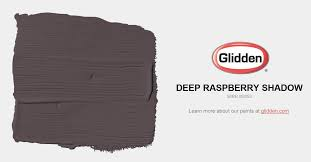 deep raspberry shadow paint color glidden paint colors