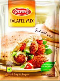 amazon com osem falafel mix 6 3 ounce pack of 12 flour and