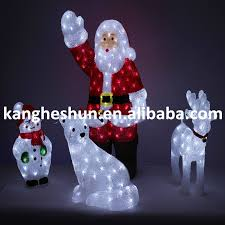 outdoor decoration lights led 3d reindeer with sleigh