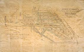 Bank Of America Locations Map by The Lost Canals Of Venice Of America Kcet