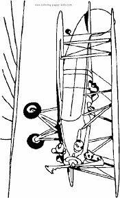 airplane coloring page coloring pages for kids transportation