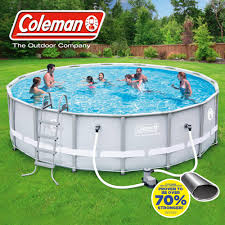 Exterior Fascinating Pools Walmart Design With Coleman 16 X 48