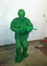 Army Soldier Halloween Costume Green Army Soldier Costume