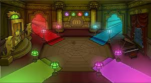 club penguin halloween party haunted house quest loo978 u0027s club