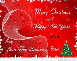 merry and a happy new year greeting card 2016