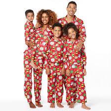 peanuts family pajamas jcpenney
