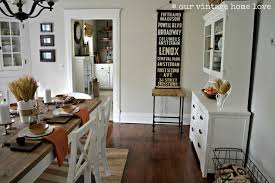 comfy vintage home decorating ideas for kitchen space area