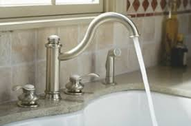 kohler kitchen sink faucet kohler fairfax kitchen bathroom faucets