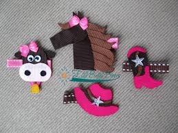 cow ribbon collection boot and hat and cow ribbon