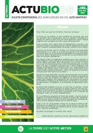 chambre d agriculture des alpes maritimes publications les agriculteurs bio de paca