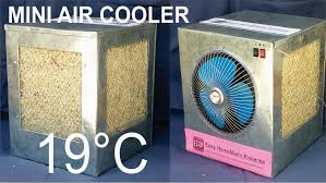 how to make an air cooler at home youtube