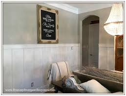 Wainscoting In Dining Room From My Front Porch To Yours French Country Farmhouse Dining Room