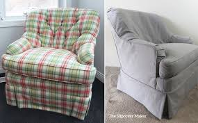 grey linen chair linen slipcovers the slipcover maker