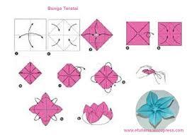 cara membuat origami bunga dari uang kertas origami bunga ros choice image coloring pages adult