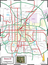 Judgemental Maps Chicago by Denver On Map Map Of Denver Co Colorado Usa