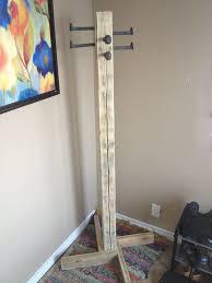 how to build a coat tree make an easy kids coat rack hgtv home