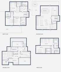 Chalet Floor Plans by Chalet Carcajou In Meribel By Skiboutique