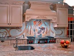 Classic Kitchen Backsplash Kitchen Design Artistic Mosaic Kitchen Backsplash Designs Foring