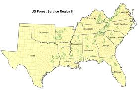 Blank Sc Map by Region 8 Selection Page