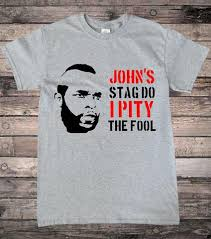 Stag Party Meme - customisable mr t stag do t shirt hallion clothing