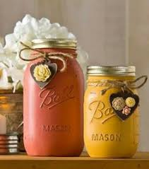 Mason Jar Home Decor Ideas Diy Autumn Mason Jar Candles Handmade Gifts Pinterest Jar