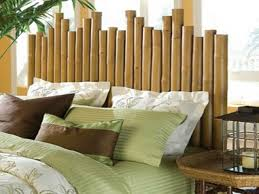 chambre en bambou du bambou déco pour un intérieur original et moderne à découvrir