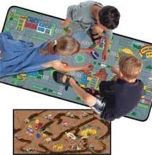 Kid Play Rug Streets Play Mats For Play Rug For Cars More