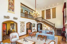 dramatic forest hill tudor asks 2 7 million curbed sf