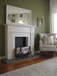 faux fireplace and mantel in white a shabby chic style faux fireplace and mantel in