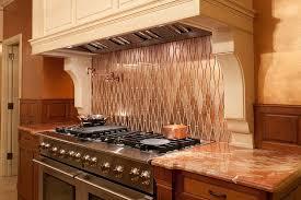 tin tile back splash copper backsplashes for kitchens classic kitchen design with molding under cabinet copper tile