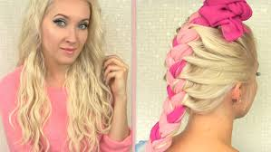 Curly Hair Extensions For Braiding by Beach Waves Overnight How To Curl Your Hair Without Heat With Clip