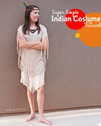 Indian Costumes Halloween Easiest Indian Costume Onecreativemommy