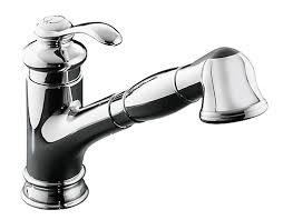kohler fairfax kitchen faucet kohler fairfax single kitchen sink faucet in polished chrome