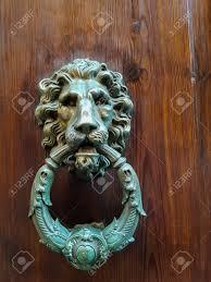 decorative door knockers view at old decorative door knocker from siena italy stock photo
