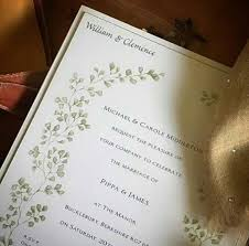 wedding invitations ebay pippa middleton takes after menus from