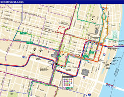 Chicago Train Map by System Maps Metro Transit U2013 St Louis